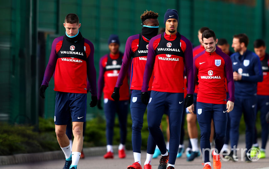 Сборная Англии по футболу. Фото Getty