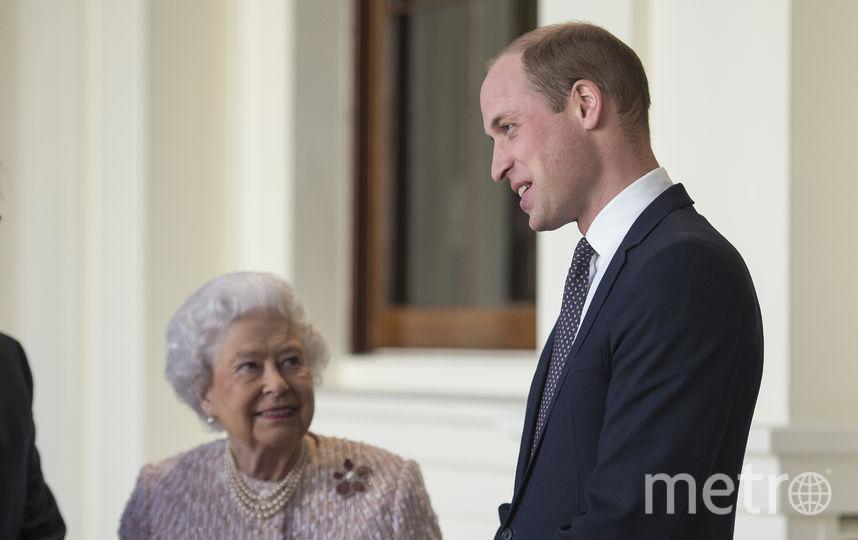 Елизавета II и принц Уильям. Фото Getty