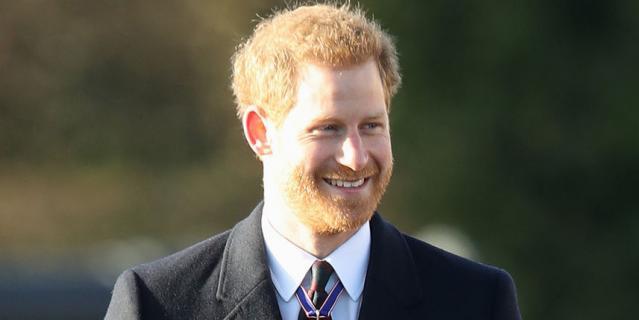 Принц Гарри.