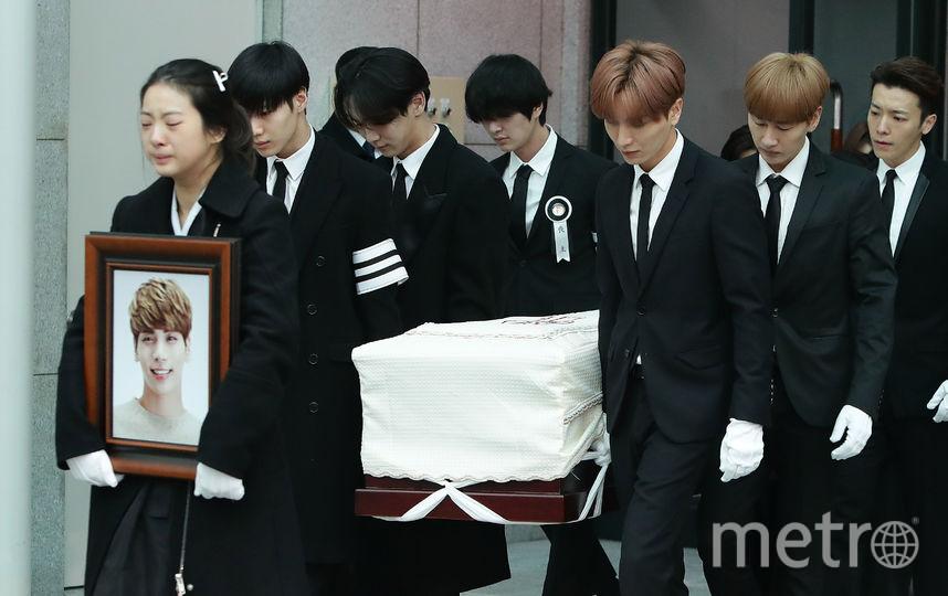 Умер музыкант Джонхён 18 декабря. Фото Getty