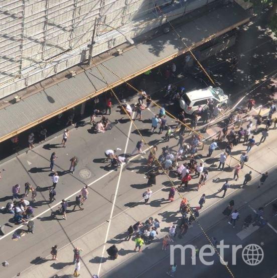 Водитель, совершивший наезд на толпу людей в Мельбурне, задержан. Фото https://www.stuff.co.nz/