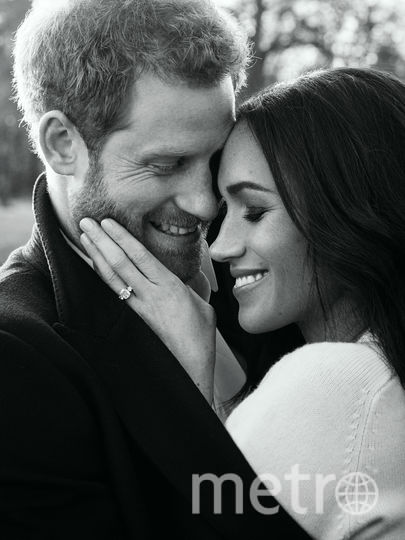 Официальные фото принца Гарри и Меган Маркл. Фото Getty