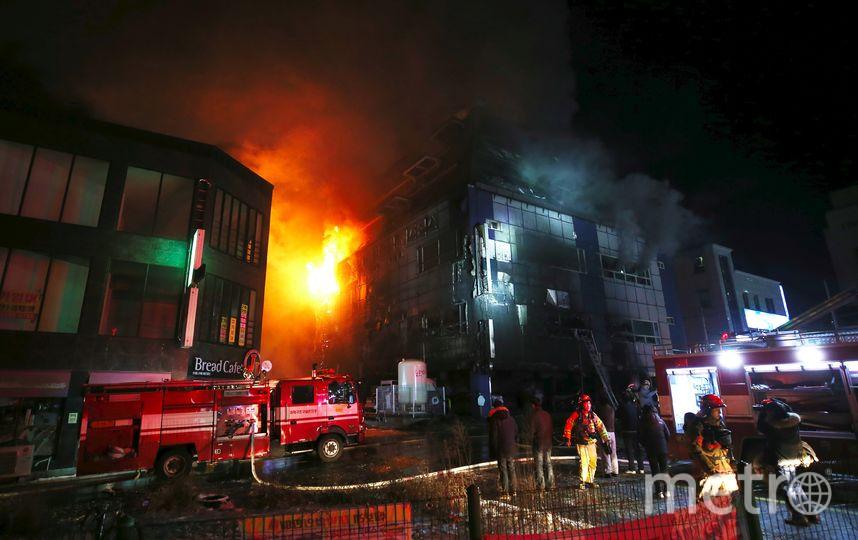 Пожар. Фото AFP