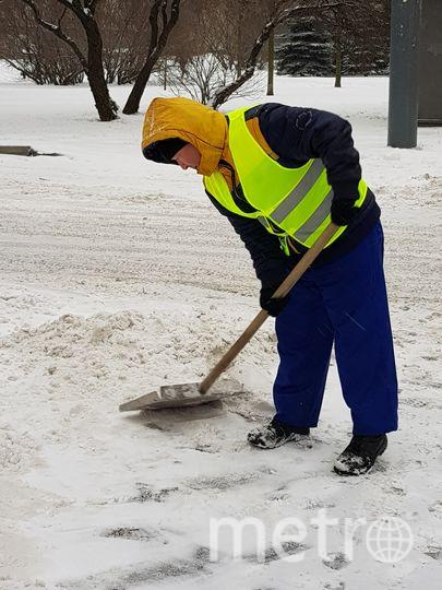 Уборка снега. Фото gov.spb.ru