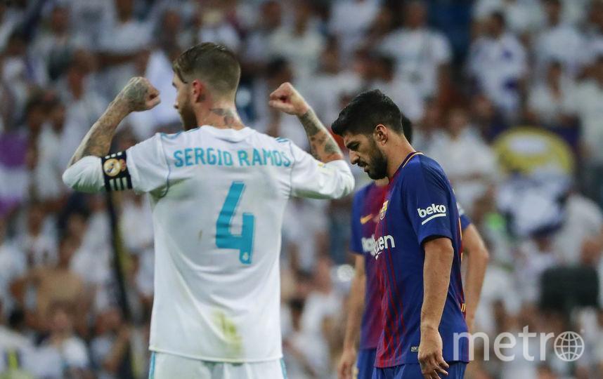 """Матч """"Барселоны"""" и """"Реала"""" болельщики прозвали """"эль класико"""". Фото Getty"""