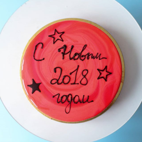 До Нового года осталось чуть больше недели. Фото https://www.instagram.com/katerinas_cakes/