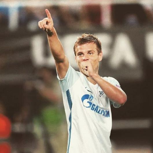 "Александр Кокорин, ""Зенит"". Фото www.instagram.com/kokorin9"