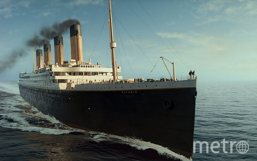 Титаник. Фото скриншот из фильма.