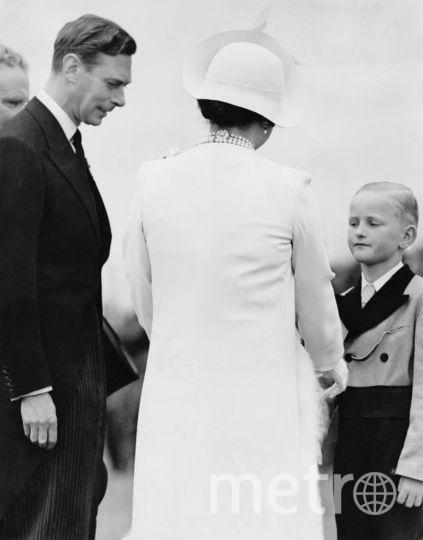 Королева Елизавета и  Георг VI. Фото Getty