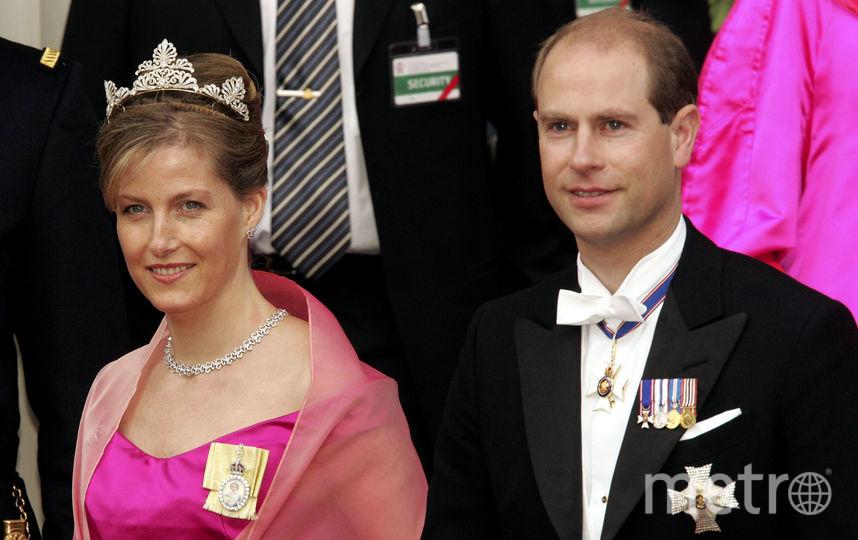Принц Эдвард и Софи. Фото Getty