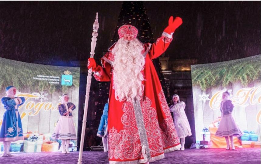 Дед Мороз. Фото из архива прошлых лет., РИА Новости