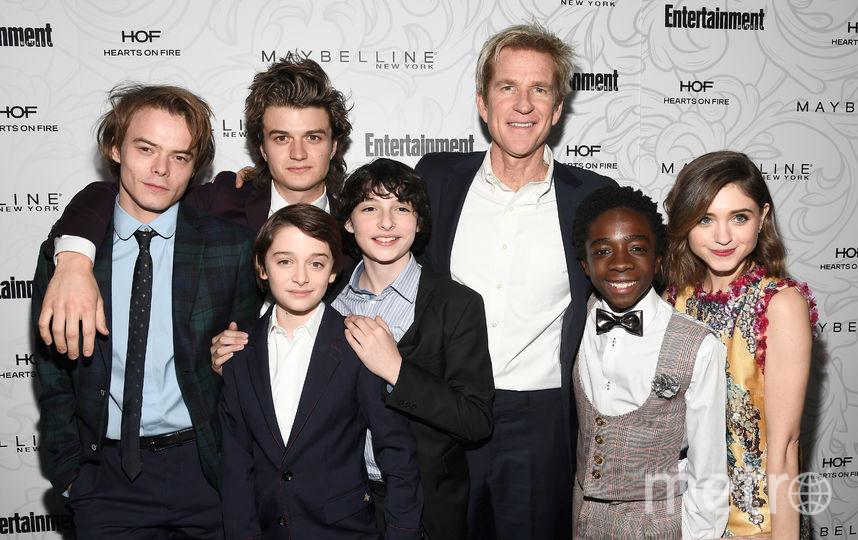 """Актёры из сериала """"Очень странные дела"""". Фото Getty"""