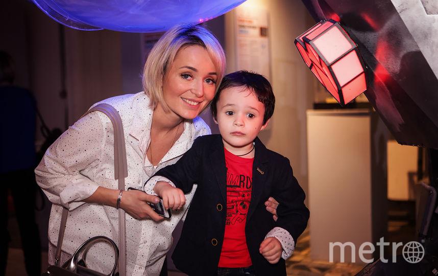 Поля Полякова с сыном. Фото Предоставлено организаторами мероприятия.