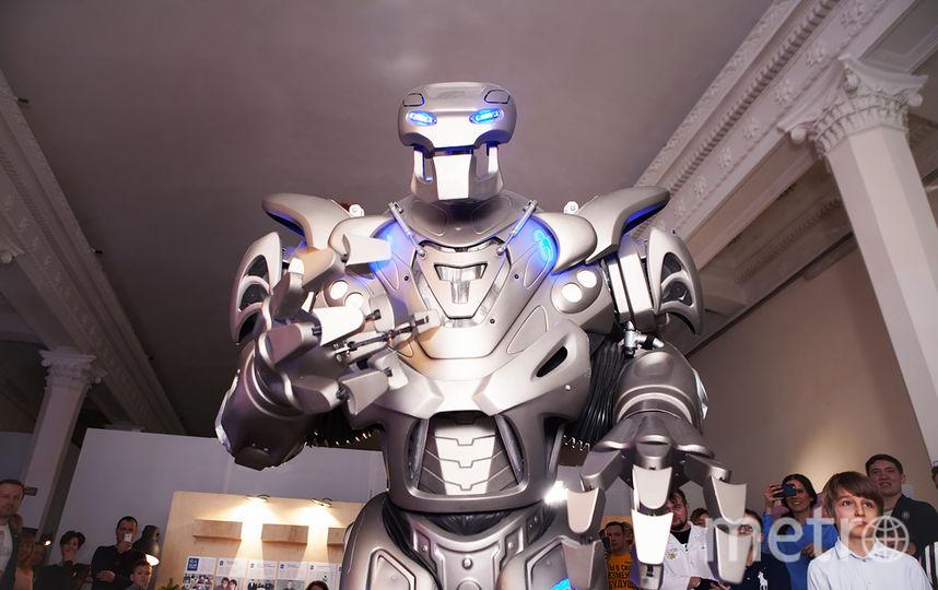 Робот. Фото Предоставлено организаторами мероприятия.