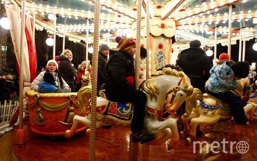 "Санта в столице. Фото Василий Кузьмичёнок, ""Metro"""