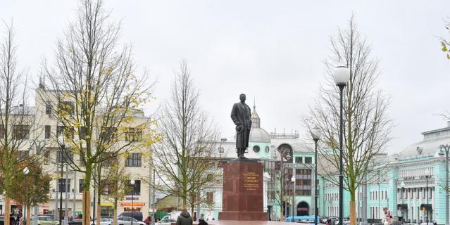 Площадь Тверская Застава в рамках программы