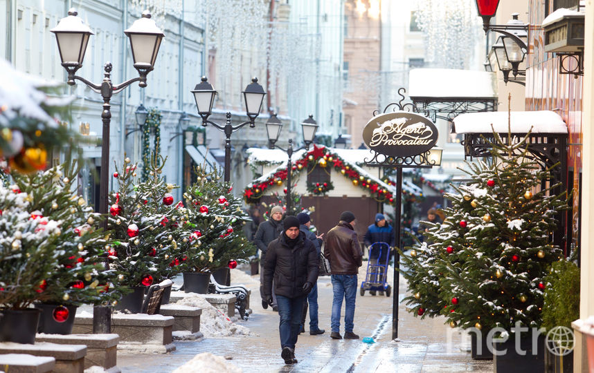 Синоптики рассказали о погоде в Москве в новогоднюю ночь. Фото Василий Кузьмичёнок