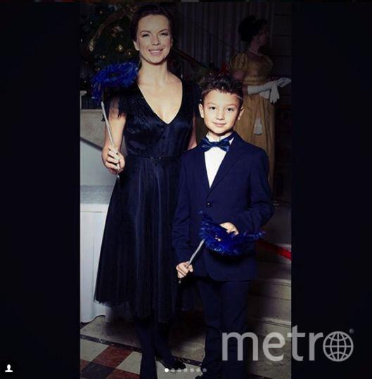 Bosco Бал в Большом. Алиса Гребенщикова с сыном. Фото Instagram