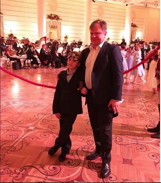 Игорь Бутман с сыном.
