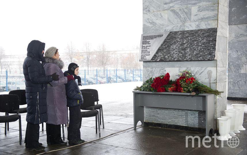 Открытие мемориала в память о погибших журналистах. Фото предоставлено Первым каналом