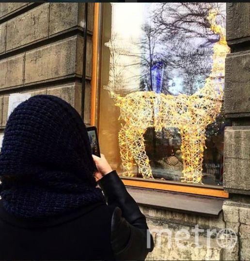 фото самых ярких витрин Невского проспекта в преддверии 2018 года. Фото https://www.instagram.com
