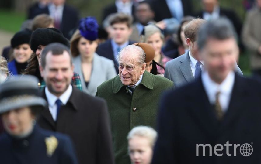Рождество. Королевская семья на службе в Сандрингеме. Фото Getty