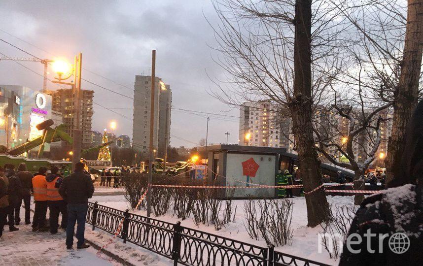 Полиция на месте трагедии. Фото Дарья Буянова.