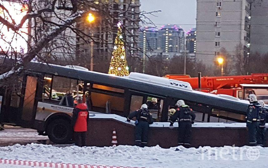 Место происшествия. Фото Василий Кузьмичёнок