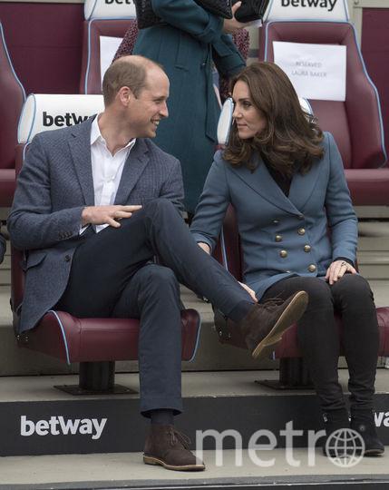 Герцог Кембриджский Уильям и герцогиня Кембриджская Кейт. Фото Getty