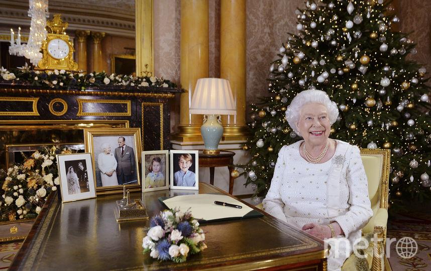 Рождественское обращение монарха к нации транслируется в телеэфире в 15:00 по лондонскому времени. Фото AFP