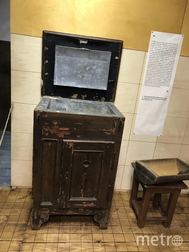 Дореволюционный холодильник из коридора одной из коммуналок. Фото Мария Беленькая