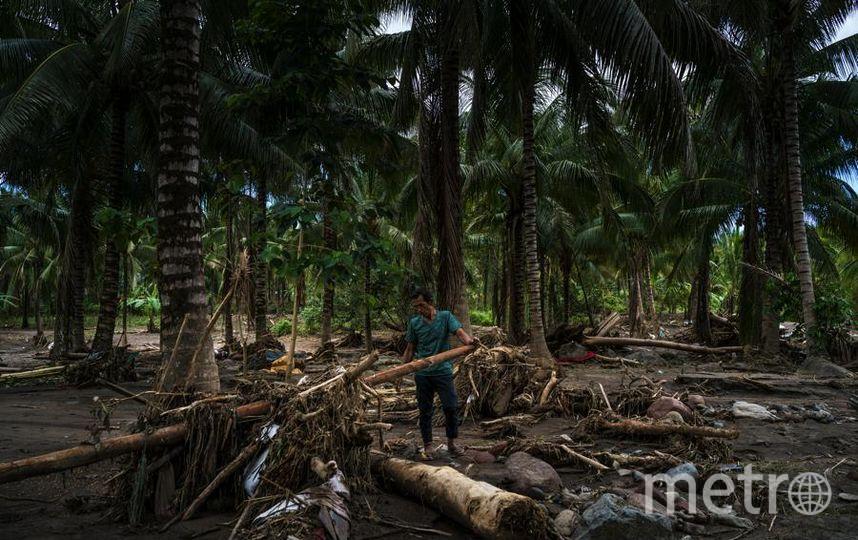 Тайфун на Филиппинах. Фото Getty