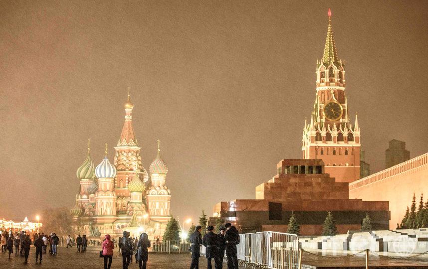 Красная площадь наНовый год будет закрыта для съемок «Голубого огонька»