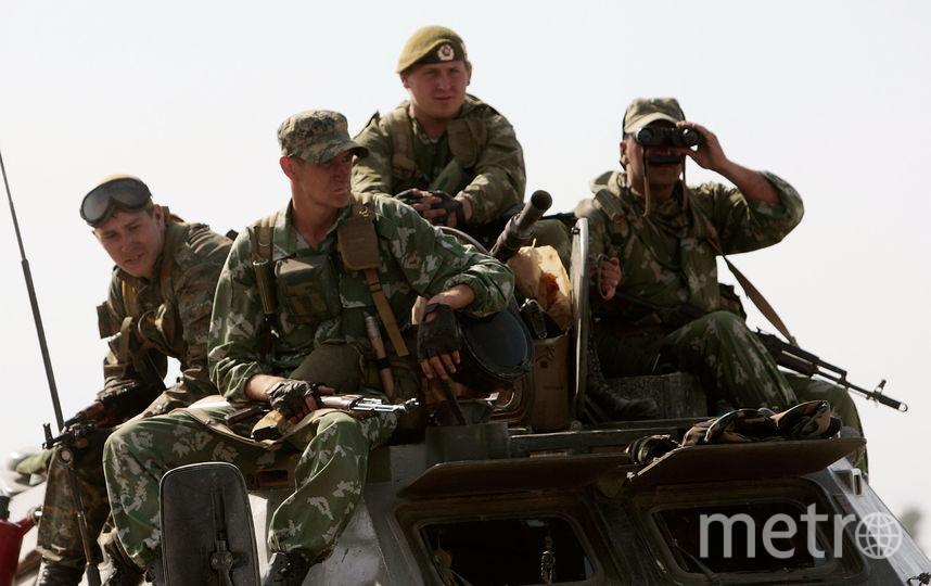 Военнослужащие российской армии. Фото Getty