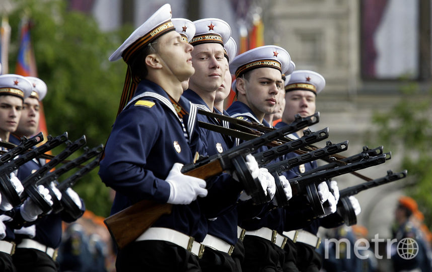 Служащие военно-морского флота. Фото Getty