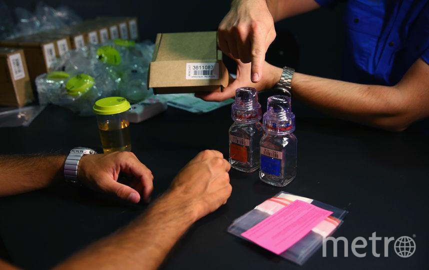 Студенты из Лозанны проверяли банки для допинг-проб российских спортсменов. Фото Getty
