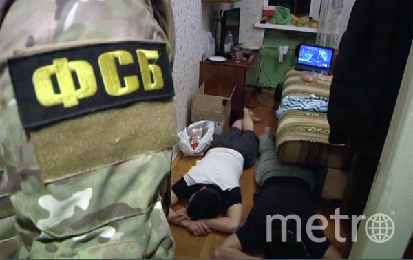 Задержанные по подозрению в подготовке терактов. Фото ФСБ РФ, РИА Новости