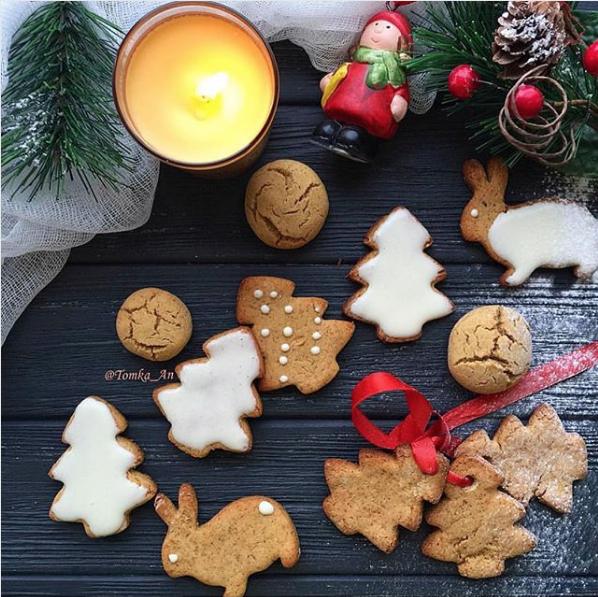 Имбирное печенье. Фото Скриншот Instagram: tomka_an