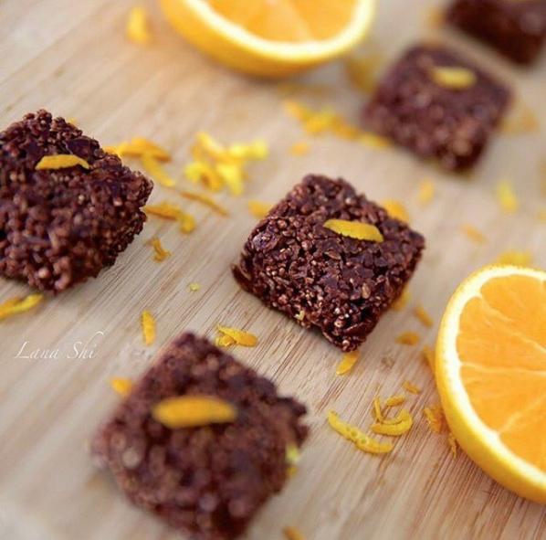 Шоколадные конфетки из мюсли. Фото Скриншот Instagram: lana_shi_recipes