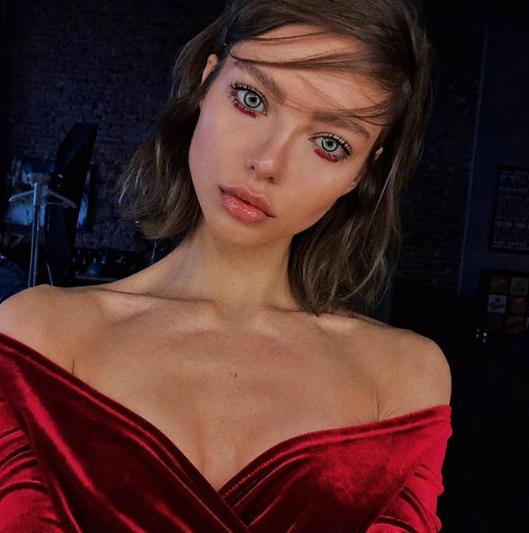 Алеся Кафельникова, модель. Фото www.instagram.com/alesyakaf