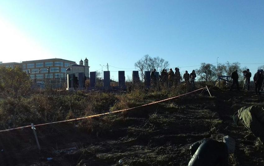 "Развязку на ""Экспофорум"" построят в обход воинских захоронений. Фото Поисковики Санкт-Петербурга, vk.com"