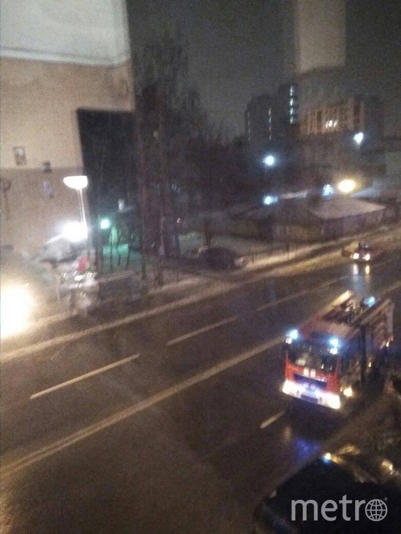 Пожар был в доме №68 на 17 линии.