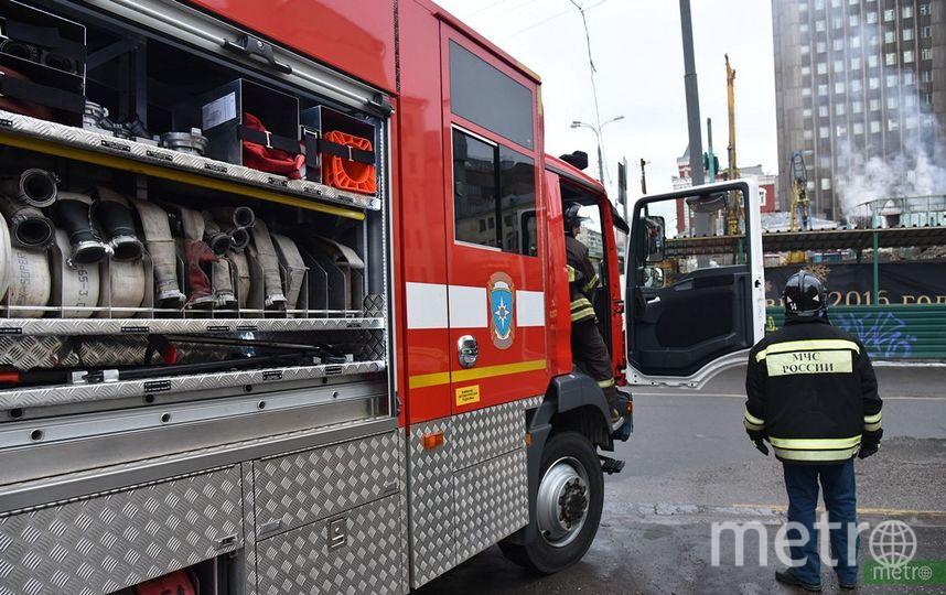 Пожар на заводе в подмосковном Домодедово ликвидирован. Фото Василий Кузьмичёнок