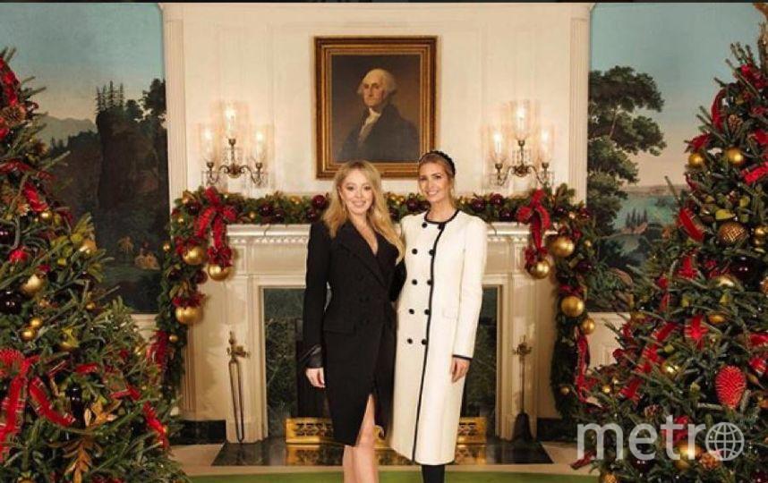 Иванка и Тиффани Трамп. Фото https://www.instagram.com/