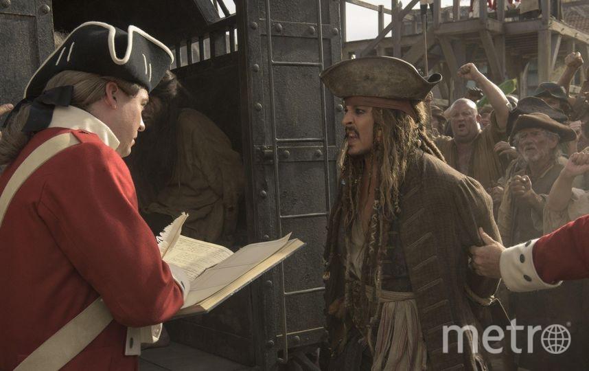 """""""Пираты Карибского моря 5: Мертвецы не рассказывают сказки"""". Фото kinopoisk.ru"""