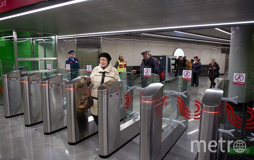 Движение поездов на салатовой ветке метро Москвы восстановили. Фото Василий Кузьмичёнок