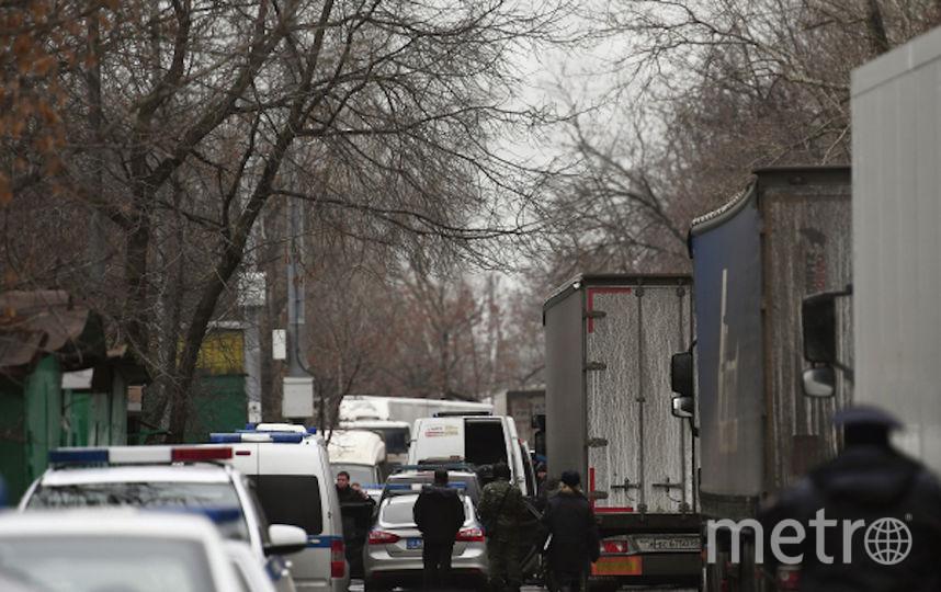 Место происшествия. Фото РИА Новости