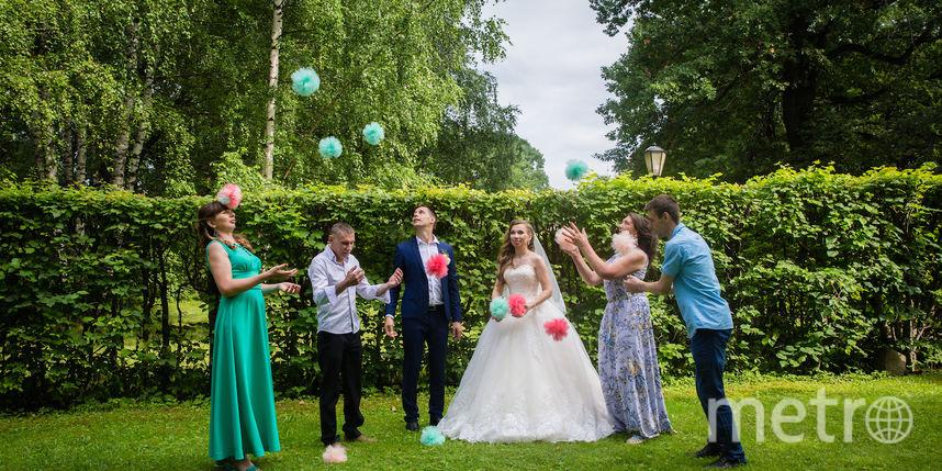 Скуднова Наталья с женихом и гостями. Фото Скуднова Наталья