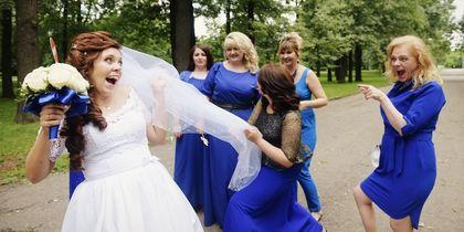 Невеста и её подруги. Фото Евдокимова Анна и Боровков Дмитрий