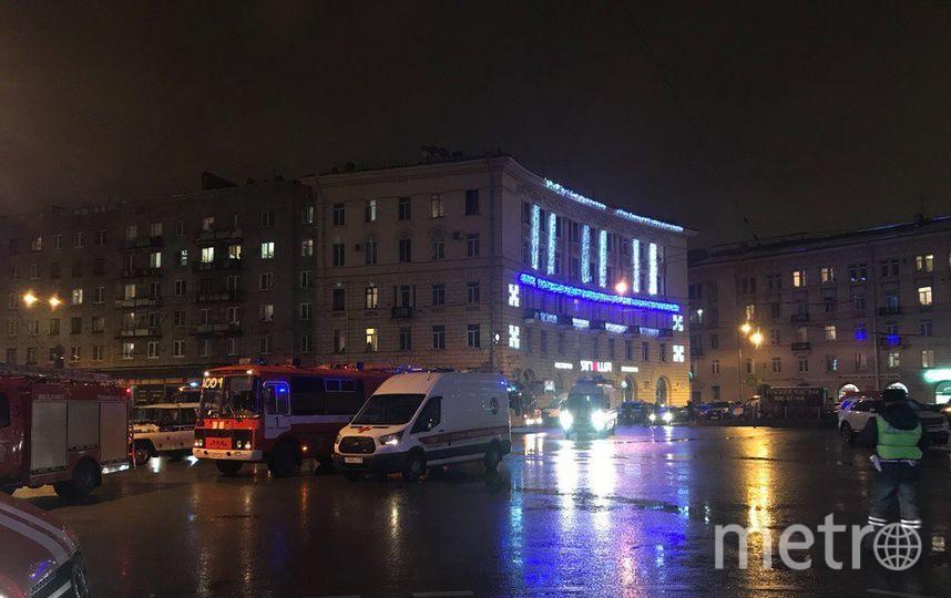 СК объявил овзрыве самодельного взрывного устройства всупермаркете вПетербурге